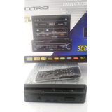 Estereo Nitro De Pantalla Dvd Usb Aux Mp3bluetooth Acolores