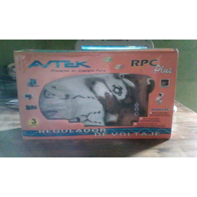 Regulador De Voltaje Avtek Plus 600 Rpc 4 Tomas Precioferta