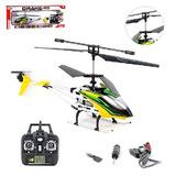 Helicóptero Controle 3canais Luzes Bateria Recarregável