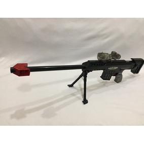 Fuzil Semiautomático Brinquedo Elétrico Sniper Gel Laser