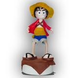 Figura De Acción Monkey D. Luffy. Decorado De Foamy