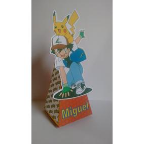 Caixa Cone Pokémon Personalizada R$1,00