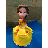 Princesa Bella En Masa Flexible 15 Cm