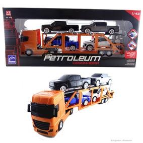 Brinquedo Caminhão Roma Petroleum Cegonheira Super Oferta !