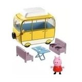 Peppa Pig Vehículo Auto Campervan Rodante Cerdita Pepa Ramos