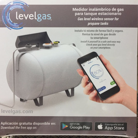 Medidor De Gas Bluetooth Inalamb. Para Tanque Estacionario