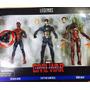 Marvel Legends 3 Pack Capitan America Civil War Spiderman