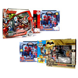Set Diario Avengers Spiderman Pet Patrol Cars Batman Vs Supe