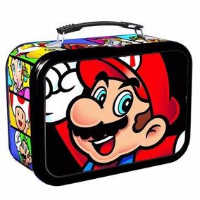 Lonchera Edición Limitada Super Mario Con Cartas
