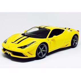 Miniatura De Ferrari 458 Speciale Race E Play 1:18 Burago