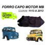 Forro Capo Motor Caminhão Mb 1113 1114 2013 Capuzinho Courvi