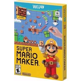 Super Mario Maker Wii U Novo Original Lacrado