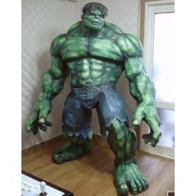Incrível Hulk Tamanho Real - Fibra De Vidro