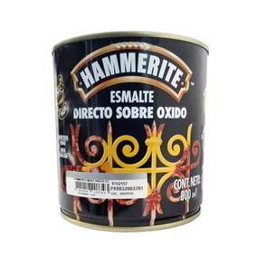 Esmalte Antioxido Hammerite Mart. Negro 250 Cm3 - Pisano