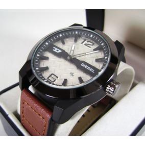 D I E S E L . Reloj Acero/ Piel Con Calendario Nuevo Cgb2