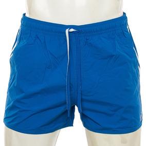 Shorts De Baño 3 Tiras Azul adidas Sport 78