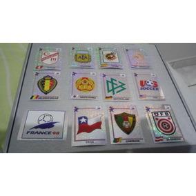 Copa 98 - Escudos - Panini Italy.