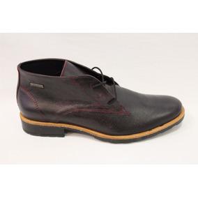 Zapato Bota Vestir Hombre Cuero Art 16853. Marca Panther