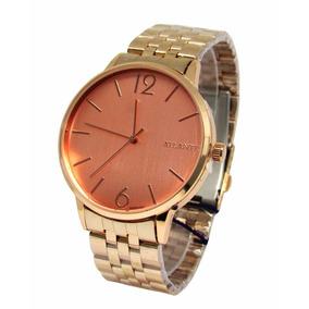 4a1ef4265ea Relogio Femininos Rose - Relógio Atlantis no Mercado Livre Brasil