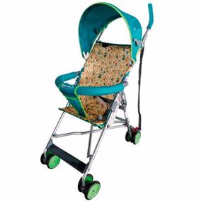 Baby Kits - Coche Bastón Safari Verde