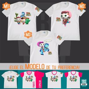 Camiseta Sheriff Callie Hello Kitty Ositos Masha Oso Poliest