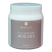 Crema Base Para Masajes Sin Fragancia - Biobellus 1kg
