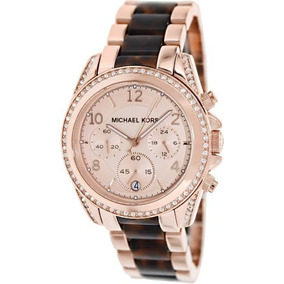 Michael Kors Mk5859 Reloj Mujeres Rosa Dorado