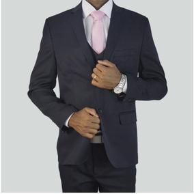 Terno Slim Fit Semi Brilho Luxo Lançamento Blaser