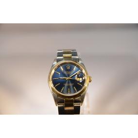 Reloj Rolex Hombre Combinado Oro 18 K Estuche Original