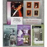 Lote 5 Libros Dostoievski - Karamazov Crimen Memorias Y Más