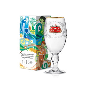 Pack De 3 Copas Stella Artois - Edicion Especial.