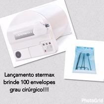 Autoclave Stermax Odontológica Digital 12 Litros E Brindes