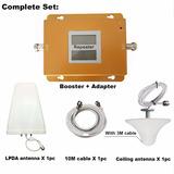 Repetidor Celular 850/1900 Mhz 3g 70 Dbi Cobertura 500 M2