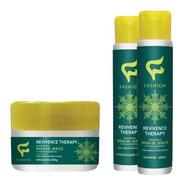6 Shampoo 6 Condicionado 6 Máscara Revivence Therapy Fashion