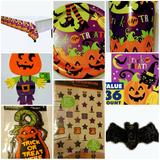 Decoración Halloween Cotillón Importados Mantel Platos Vaso