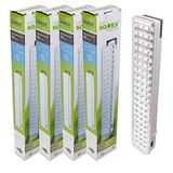 Pack X5 Lampara Luz De Emergencia 60 Leds Recargable 15hrs