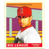 Barajita Francisco Rodriguez Upper Goudey Mini 2007 # 123