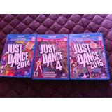 Just Dance 4, 2014 Y 2015 Wii U (disponibles)