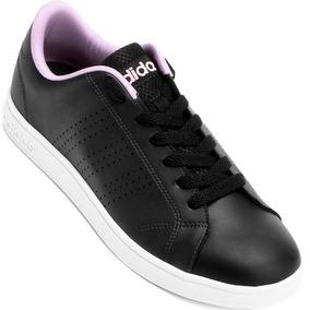 be60de04b9c Tênis Adidas Advantage Vs Branco Feminino - Tênis no Mercado Livre ...