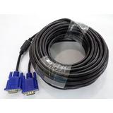 Cable Vga De 10 Metros Con Filtro Para Monitor Nuevo