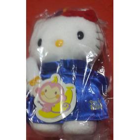 Muñeca Original Hello Kitty Y Colección Monedas Sanrio