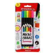 Microfibra Simball Sketch Summer Blister X5