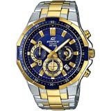 Reloj Casio Edifice Efr-554sg-2av - 100% Nuevo Y Original