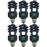 Sunlite Sl20 / Blb / 6pk 20w Espiral Ahorro De Energía Cf
