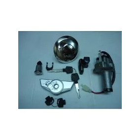 Kit Chave Ignicao Titan 150 Trava/miolo/tanque/lat 09/14