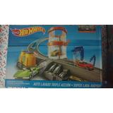 Lote 4 Pistas Hot Wheels Mega, Color S, Lavado Box Lyly Toys
