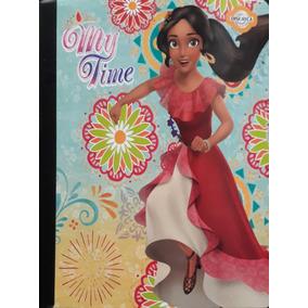 Cuaderno Escolar Empastado Y Cocido Disney Elena 6 Unid