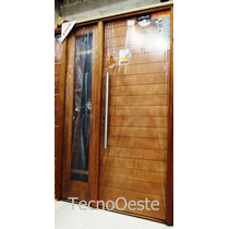 Aberturas Portada Puerta 80 + 1 Lateral Oblak 2331 Madera