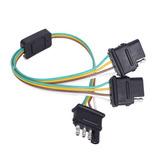 Mictuning 2 Vías 4 Y Pin-adaptador De Conector De...