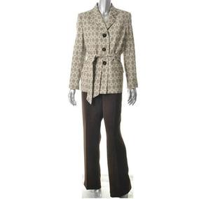 Le Suit Traje Sastre Pantalón Y Saco Blazer Vintage Talla M